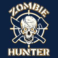 Zombie Hunter - Adult Fan Favorite Hooded Sweatshirt Design