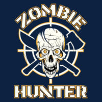 Zombie Hunter - Ladies V-Neck T Design
