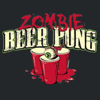 Zombie Beer Pong - Adult Fan Favorite Hooded Sweatshirt Design